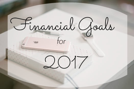 Financial Goals for 2017