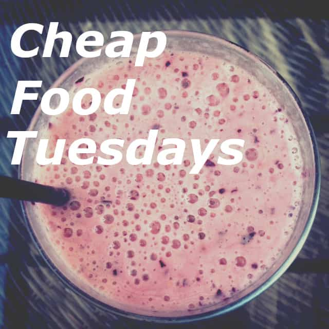 Cheap Food Tuesdays - The Wallet Moth