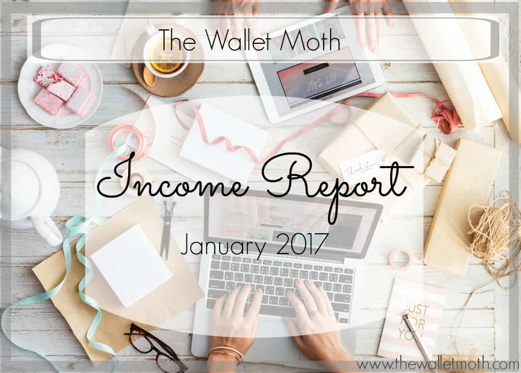 January Monthly Income Report
