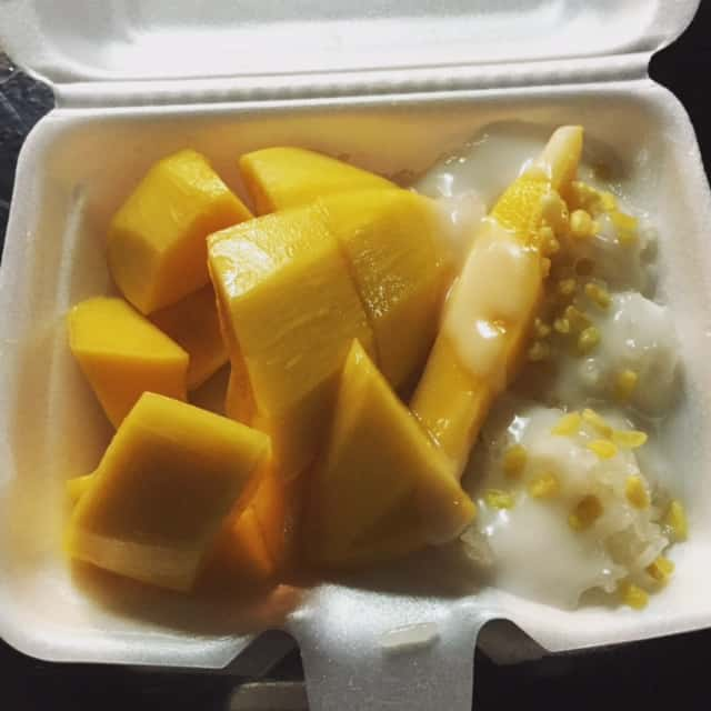 The Best Street Food in Asia - Mango Sticky Rice