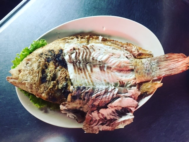 The Best Street Food in Asia - Grilled Whole Fish