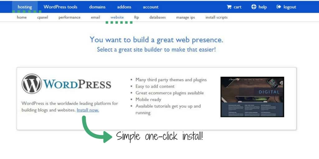 How to Start Your Own Blog with WordPress (in under 10 minutes!)
