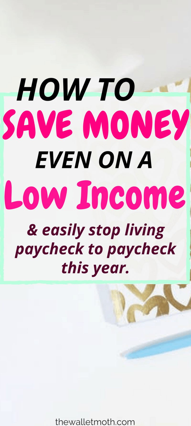 Find out how to save money even when you're on a low income! Learn how to budget, save money and track your spending with this complete guide!