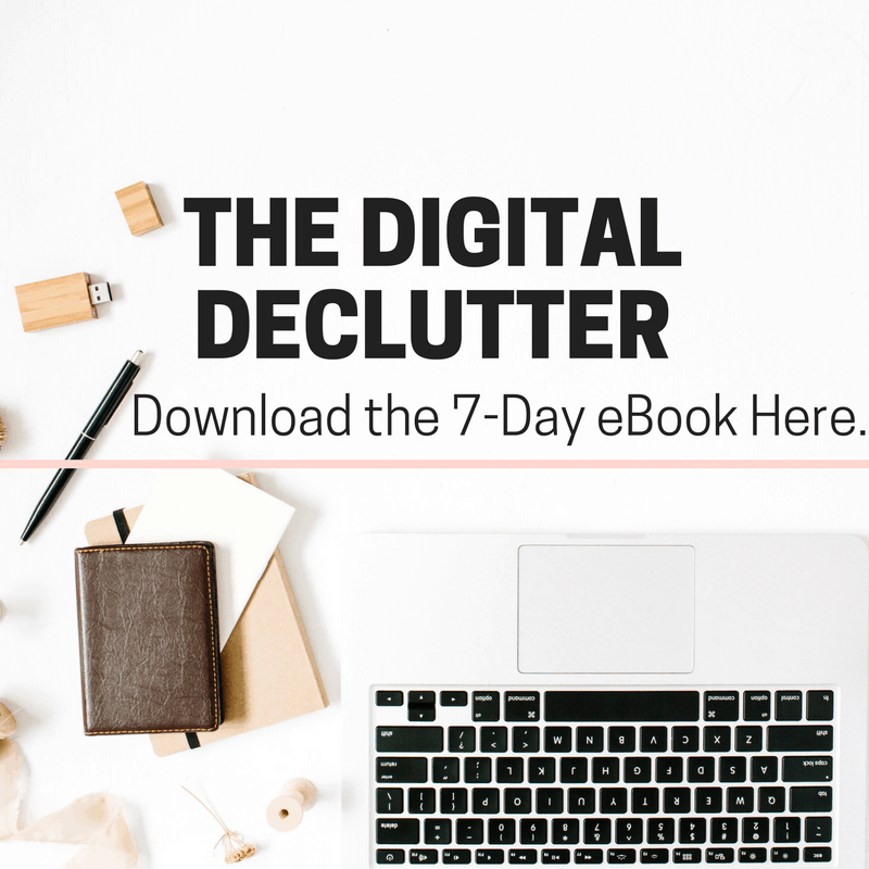 Digital Declutter Guide
