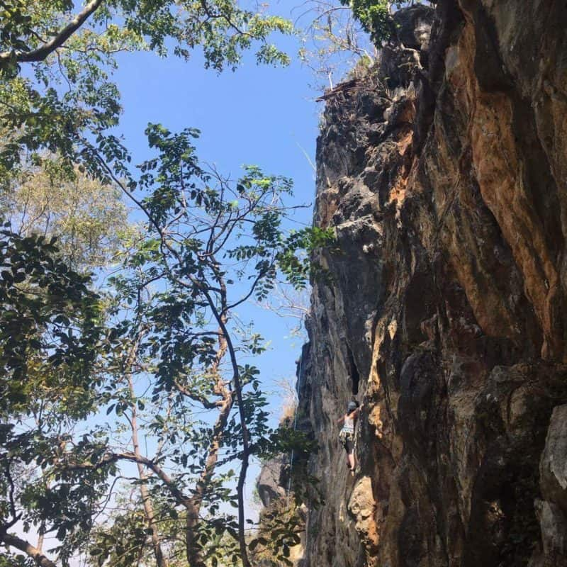 2017 Highlights: Climbing at Crazy Horse in Chiang Mai, Thailand