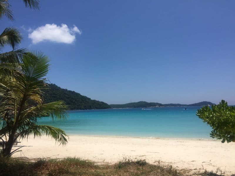 Paradise in the Perhentian Islands, Malaysia