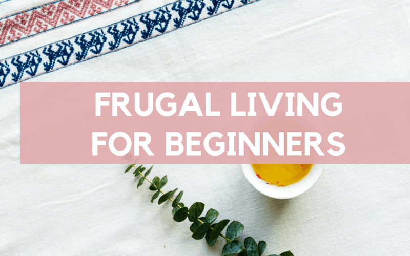 Frugal Living for Beginners and frugal living tips to try this month!