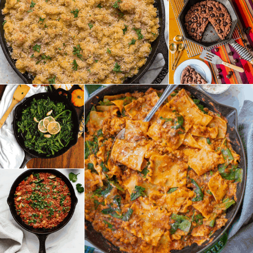 Vegan cast iron skillet recipes