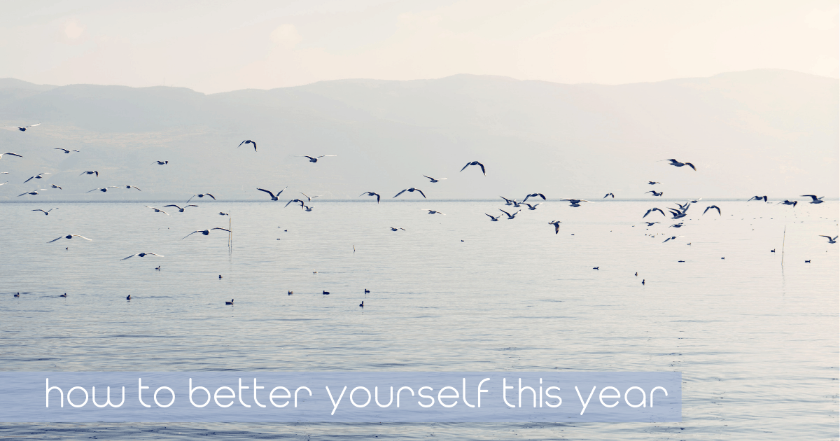 60 self-improvement tips to better yourself this year