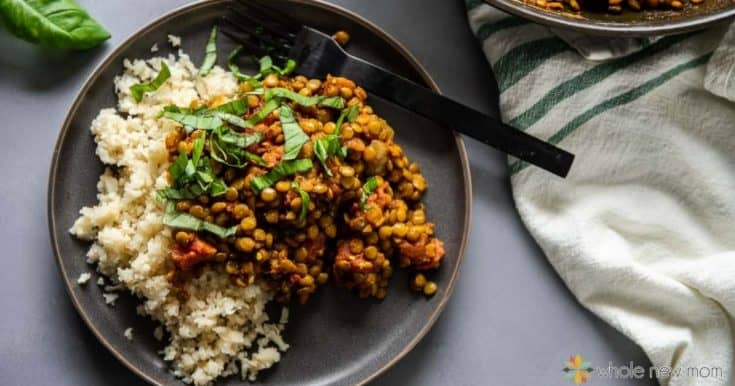 Easy Indian Lentils (Dal)