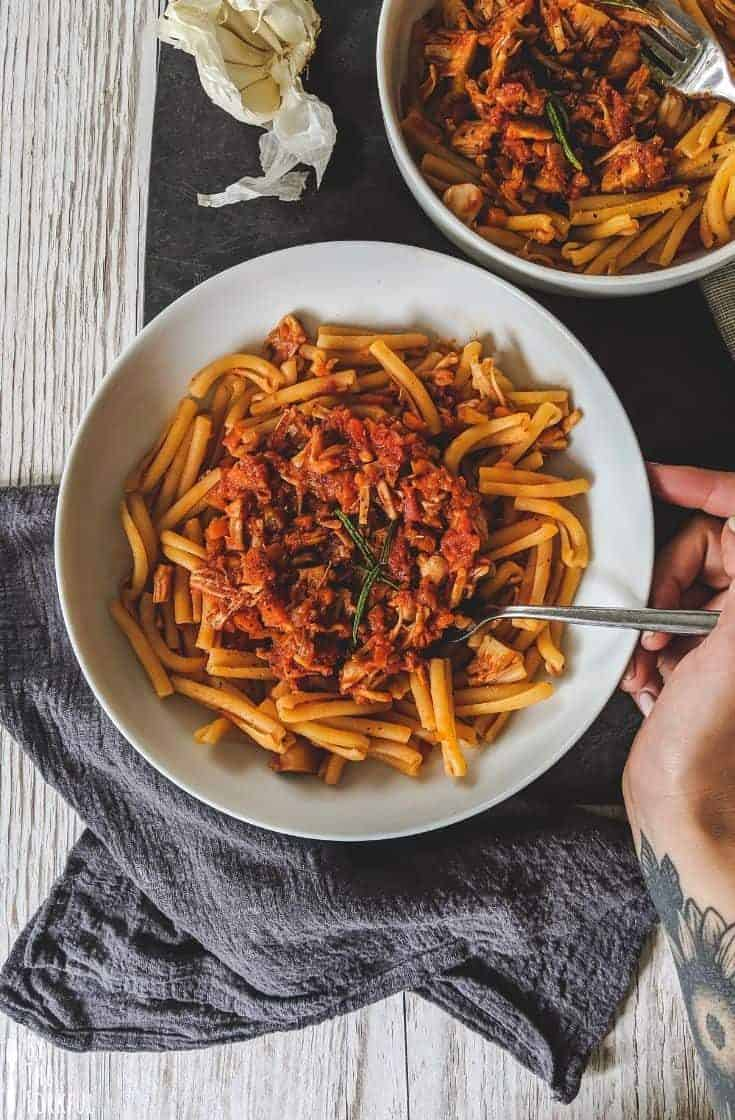 Vegan Jackfruit Bolognese Recipe | Best Jackfruit Recipe