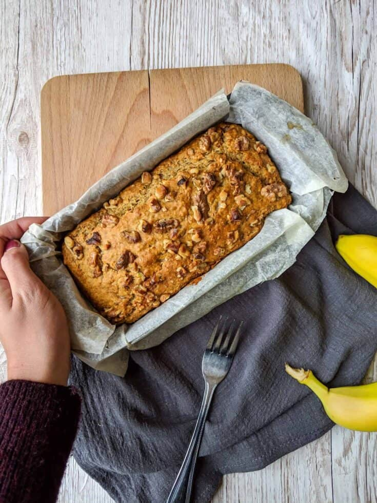The BEST Vegan Banana Bread Recipe