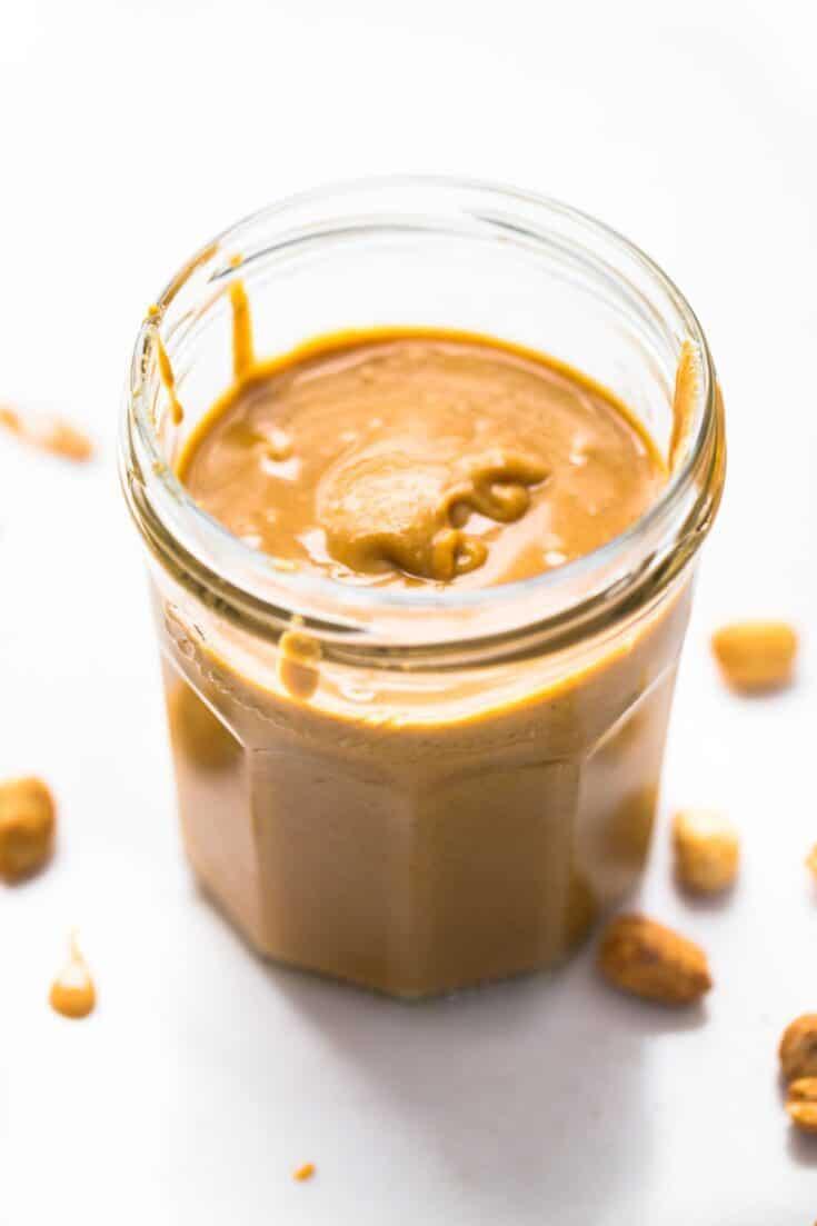 5 Minute Homemade Peanut Butter - Pinch of Yum