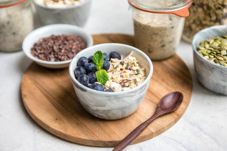 Easy Muesli Recipe (Vegan, GF, & Customizable)