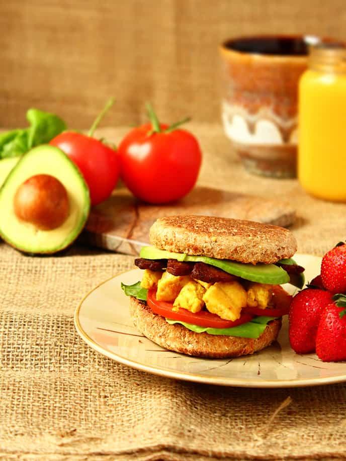 How to Make a Vegan Breakfast Sandwich for Less than $3 » I LOVE VEGAN